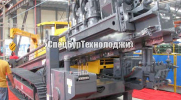 Установка горизонтально-направленного бурения (ГНБ) HANLYMA HL 580 A