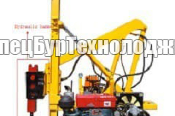 Малогабаритная сваебойная установка HONGDA XDDZ-Y2200