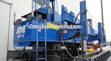 Гидравлическая сваевдавливающая установка (копер) JOVE JVY240A-JVY500A