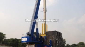 Гидравлическая сваевдавливающая установка (копер) JOVE JVY600A-JVY800A