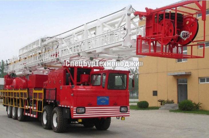 Установка для нефтяных и газовых скважин RONGLI ZJ15