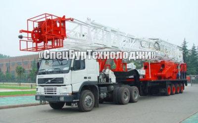 Установка для нефтяных и газовых скважин RONGLI ZJ20 (прицепная)