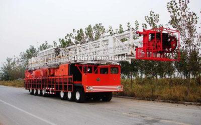 Установка для нефтяных и газовых скважин RONGLI ZJ30