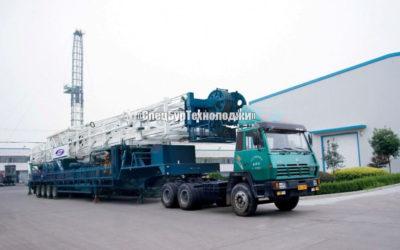 Установка для нефтяных и газовых скважин RONGLI ZJ30 прицепная