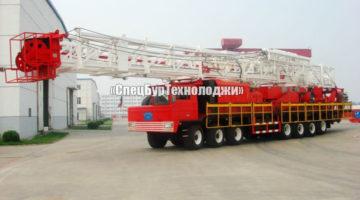 Установка для нефтяных и газовых скважин RONGLI ZJ40