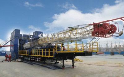 Установка для нефтяных и газовых скважин RONGLI ZJ40 (прицепная)