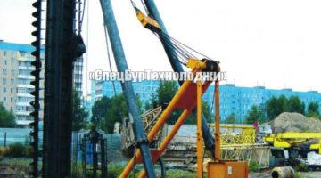 Гидравлическая сваебойная установка (копер) SANY SF558