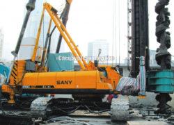 Гидравлическая сваебойная установка (копер) SANY SF808
