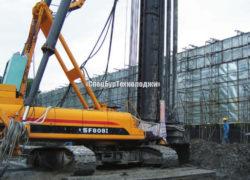 Гидравлическая сваебойная установка (копер) SANY SF808 I