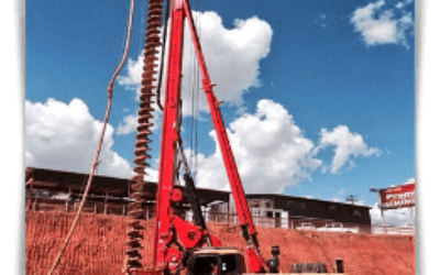 Буровая установка CFA для буронабивных свай SANY SR180M