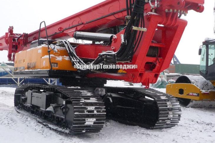 Гидравлическая роторная буровая установка SANY SR200C