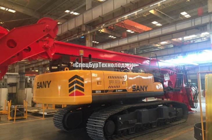 Гидравлическая роторная буровая установка SANY SR250