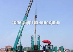 Гидравлическая сваевдавливающая установка (копер) STARKE YZY400-YZY600