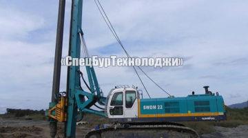 Гидравлическая роторная буровая установка SUNWARD SWDM22