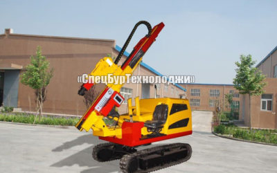 Малогабаритная сваебойная установка WELL ROAD MACHINE WR-PC230-460